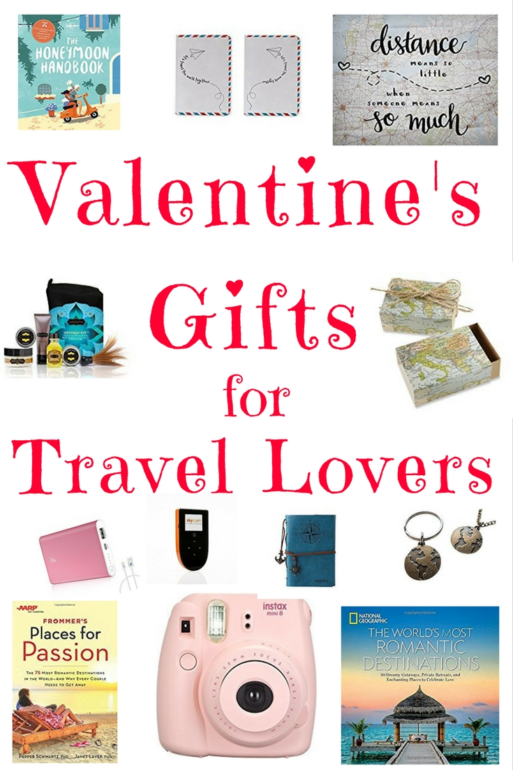 Valentine's Gifts For Travel Lovers.