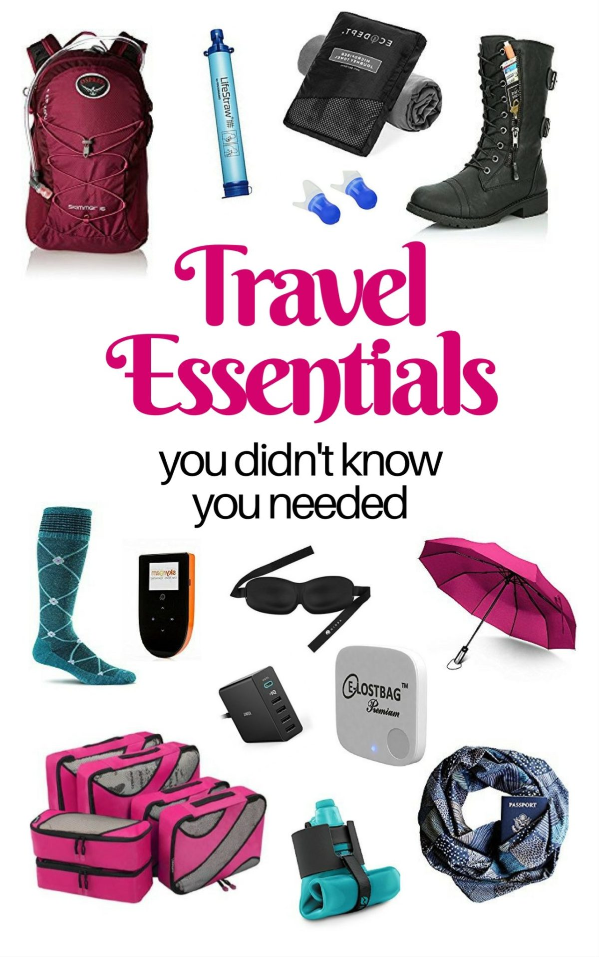 Travel Essentials You Didn't Know You Needed